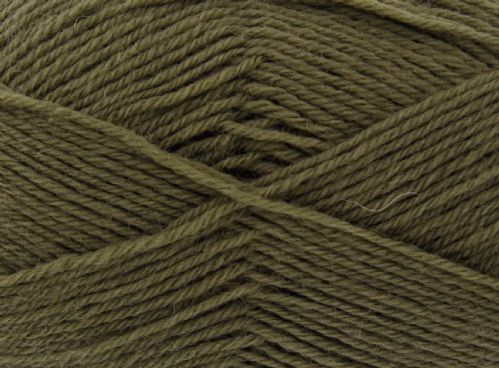 King Cole Pure Wool Yarn 500g Cone 4ply - Vine Leaf